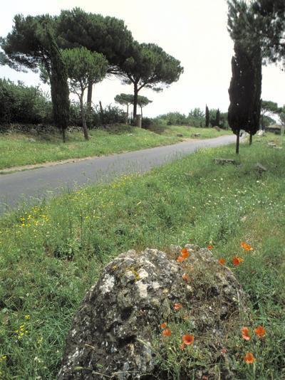 Appian Way, an Ancient Roman Road-Richard Nowitz-Photographic Print