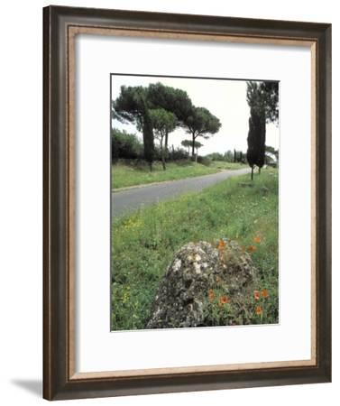 Appian Way, an Ancient Roman Road-Richard Nowitz-Framed Photographic Print