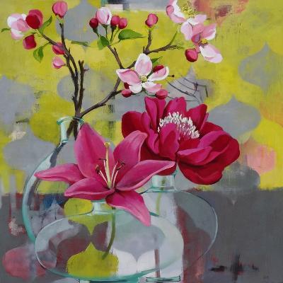 Apple Blossom Trio-Jennifer Rasmusson-Art Print