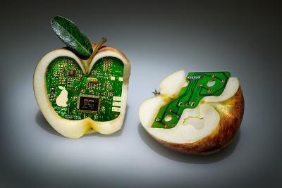 Apple Core- Kikroune-Photographic Print