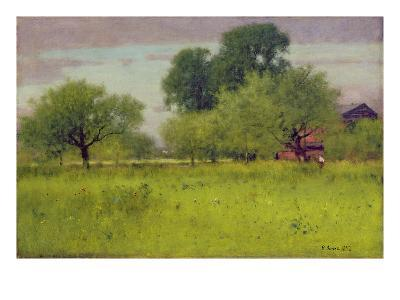 Apple Orchard, 1892-George Snr^ Inness-Giclee Print