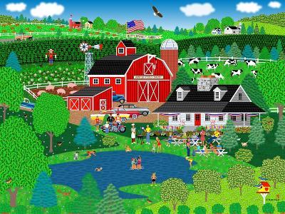 Apple Pond Farm Summer-Mark Frost-Giclee Print