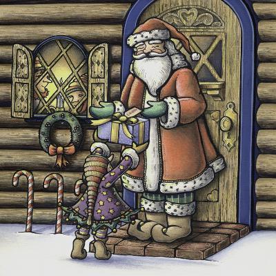 Apple Santa-Michele Meissner-Giclee Print