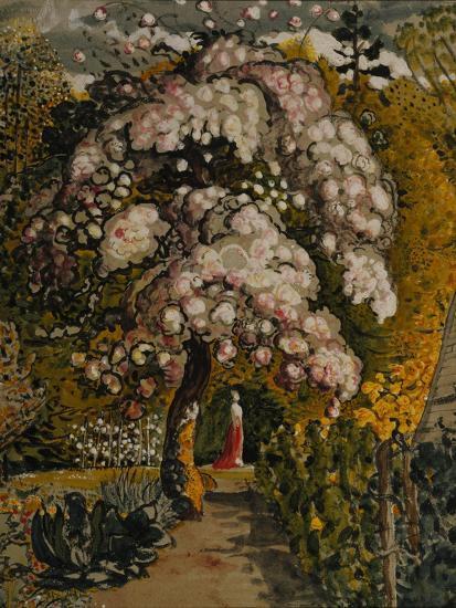 Apple Tree in Blossom In a Shoreham Garden, c.1830-Samuel Palmer-Giclee Print