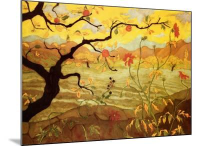 Apple Tree with Red Fruit, c.1902-Paul Ranson-Mounted Print