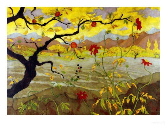 Apple Tree with Red Fruit, c.1902-Paul Ranson-Giclee Print