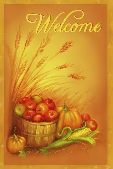 Apple Welcome-Patricia Dymer-Giclee Print