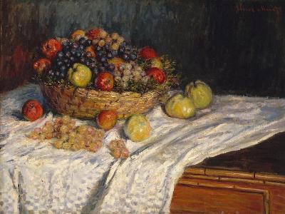 Apples and Grapes, 1879–80-Claude Monet-Giclee Print