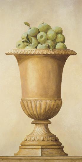 Apples in Vase-Hampton Hall-Art Print