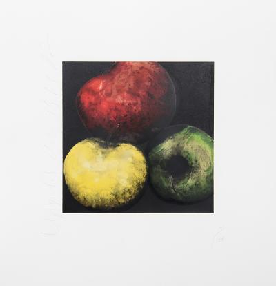 Apples-Donald Sultan-Limited Edition