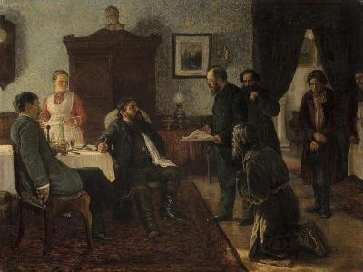 Applicants, 1888-Firs Sergeevich Zhuravlev-Giclee Print