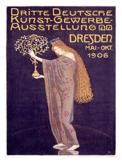 Applied Arts Exhibition, Dresden-Otto Gussmann-Giclee Print
