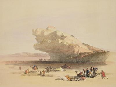 Approach to Petra-David Roberts-Giclee Print
