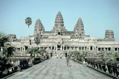 Approach to the East Gate of the Angkor Wat, Completed C.1150--Photographic Print