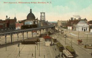 Approach to Williamsburg Bridge, New York City