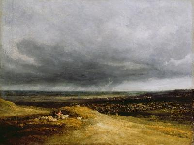 Approaching Storm, C.1820-25-Georges Michel-Giclee Print