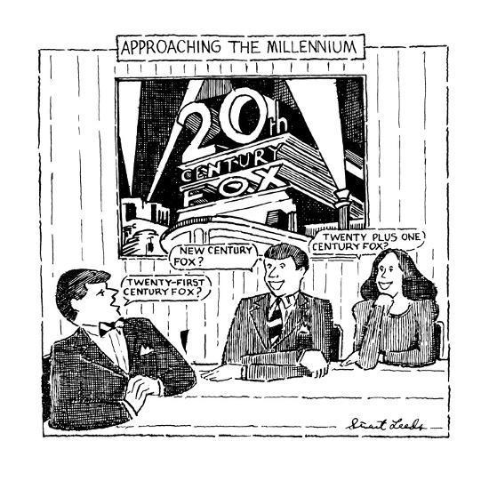 Approaching The Millennium - New Yorker Cartoon-Stuart Leeds-Premium Giclee Print