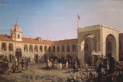 Apraksin Market in St. Petersburg, 1862-Pyotr Petrovich Vereshchagin-Giclee Print