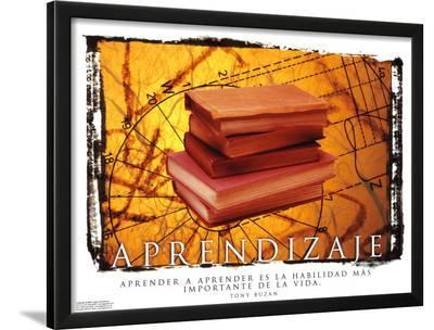 Aprendizaje- Learning--Lamina Framed Art Print