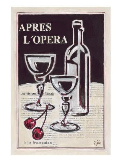Apres L'Opera Porto-Rene Stein-Art Print