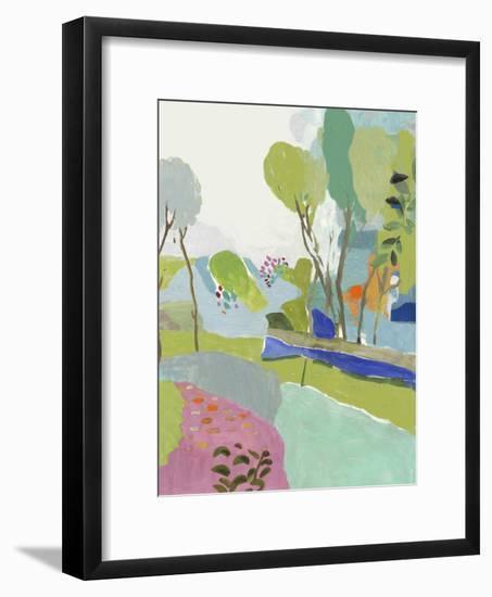 April Adventures-PI Studio-Framed Art Print
