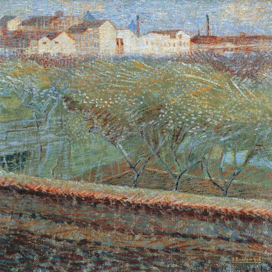 April Evening, 1908-Umberto Boccioni-Giclee Print
