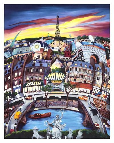 April in Paris-Linnea Pergola-Art Print