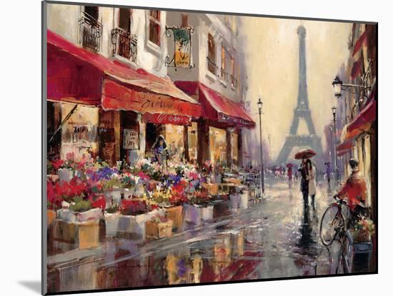 April in Paris-Brent Heighton-Mounted Art Print