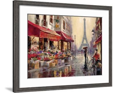 April in Paris-Brent Heighton-Framed Art Print