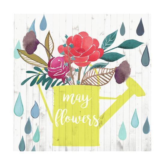 April Showers & May Flowers II-Studio W-Art Print