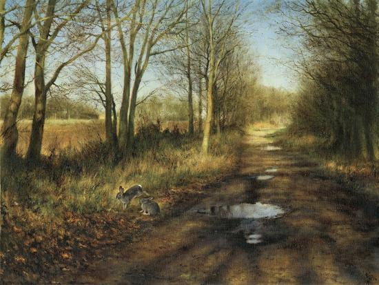 APRIL-Rien Poortvliet-Giclee Print