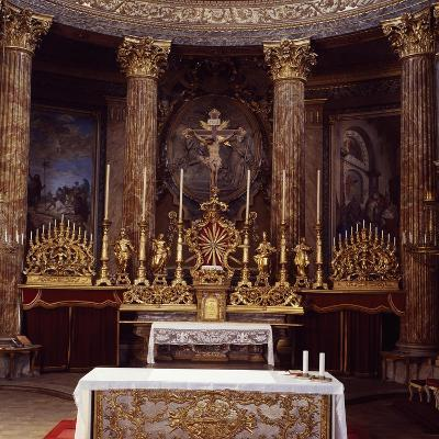 Apse of Cathedral of John the Baptist and Saint Remigio, Designed by Benedetto Alfieri, Italy--Giclee Print