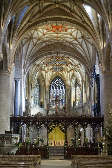 Apse of Tewkesbury Abbey (Abbey Church of St. Mary the Virgin)-Stuart Black-Photographic Print