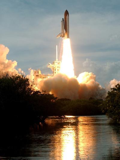 APTOPIX Space Shuttle-Paul Kizzle-Photographic Print
