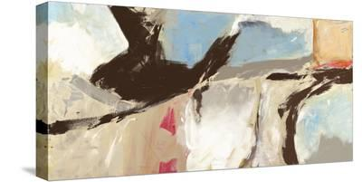 Aqua and Greige-Chaz Olin-Stretched Canvas Print