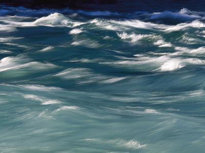 Aqua Blue Waves-Skip Brown-Photographic Print