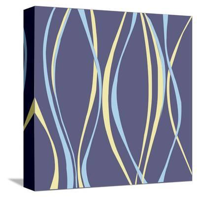 Aqua Blue-Denise Duplock-Stretched Canvas Print