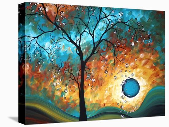 Aqua Burn-Megan Aroon Duncanson-Stretched Canvas Print