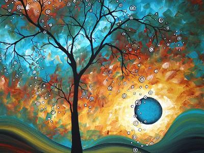 Aqua Burn-Megan Aroon Duncanson-Art Print