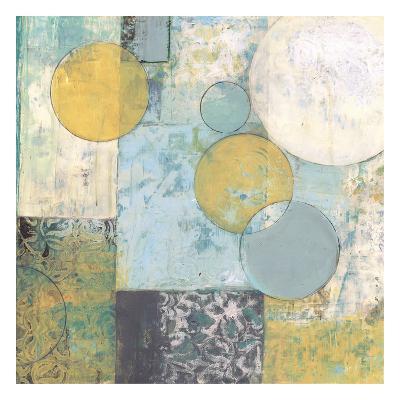 Aqua Circlets-Smith Haynes-Art Print