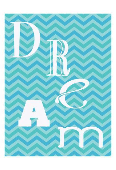 Aqua Dance-Taylor Greene-Art Print