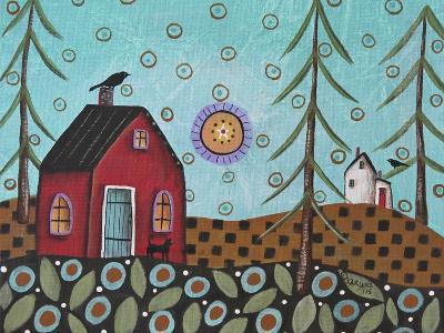 Aqua Door 1-Karla Gerard-Giclee Print