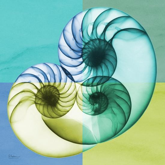 Aqua Filter 3-Albert Koetsier-Premium Giclee Print