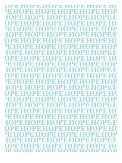 Aqua Hope-Avalisa-Art Print