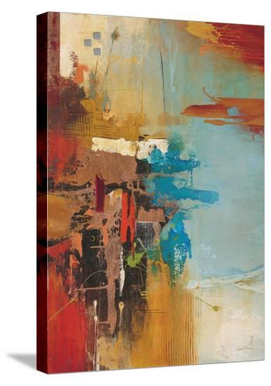 Aqua Illusion 1-Gabriela Villarreal-Stretched Canvas Print