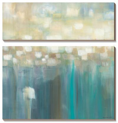 Aqua Light-Karen Lorena Parker-Canvas Art Set