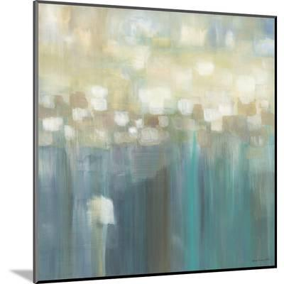 Aqua Light-Karen Lorena Parker-Mounted Print