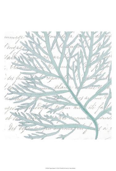 Aqua Marine VI-Anna Hambly-Art Print