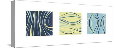 Aqua Marine-Denise Duplock-Stretched Canvas Print