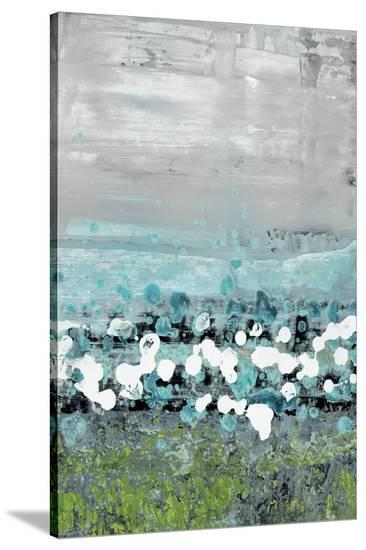 Aqua Motion-Liz Nichtberger-Stretched Canvas Print